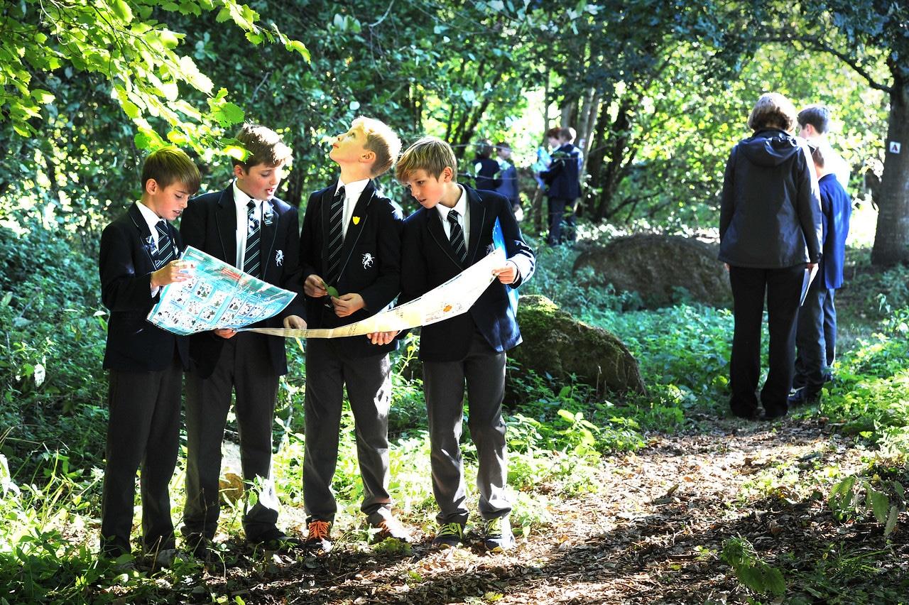 Abingdon Prep outdoor lesson