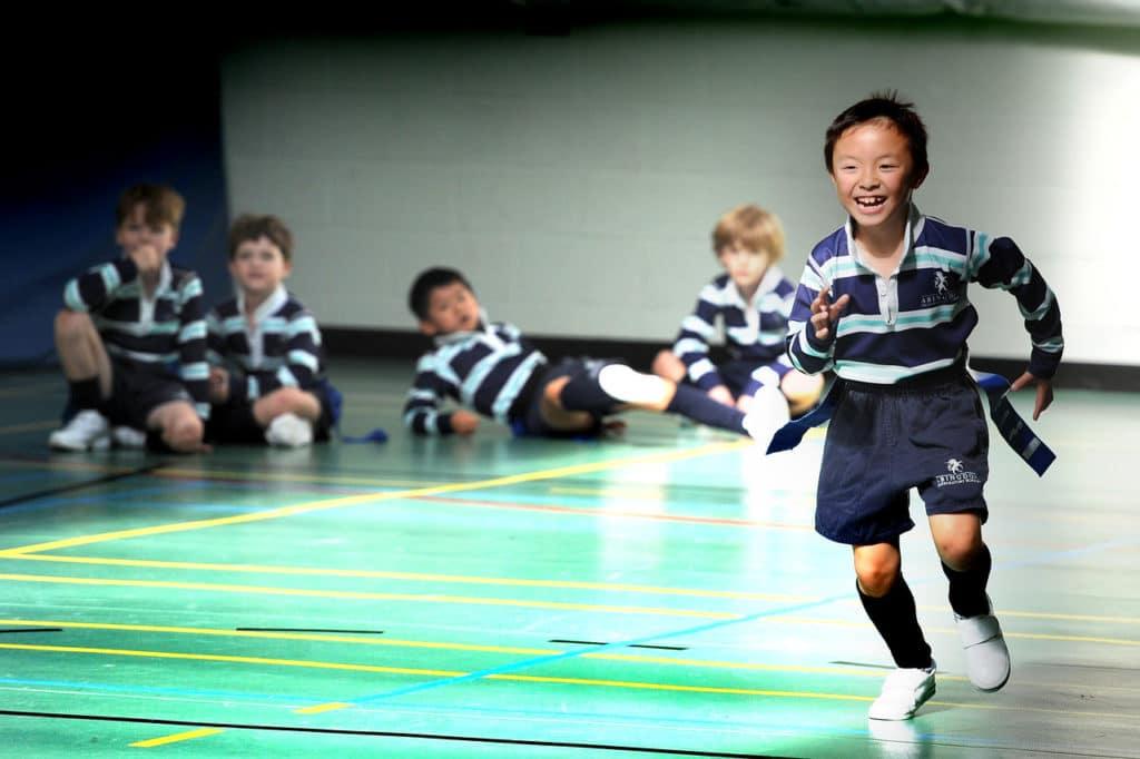 Abingdon Prep sport lesson