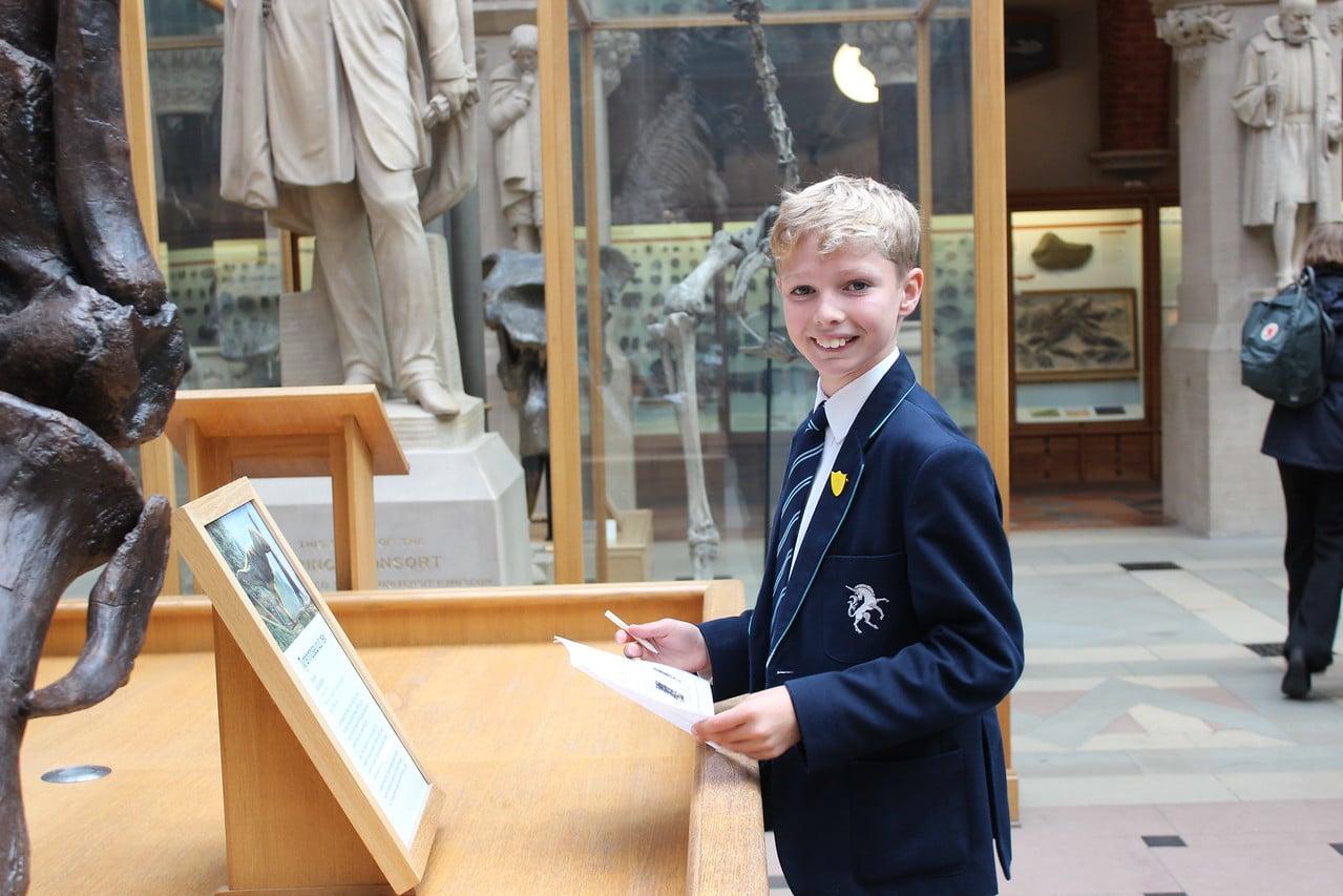 Abingdon Prep trip to natural history museum