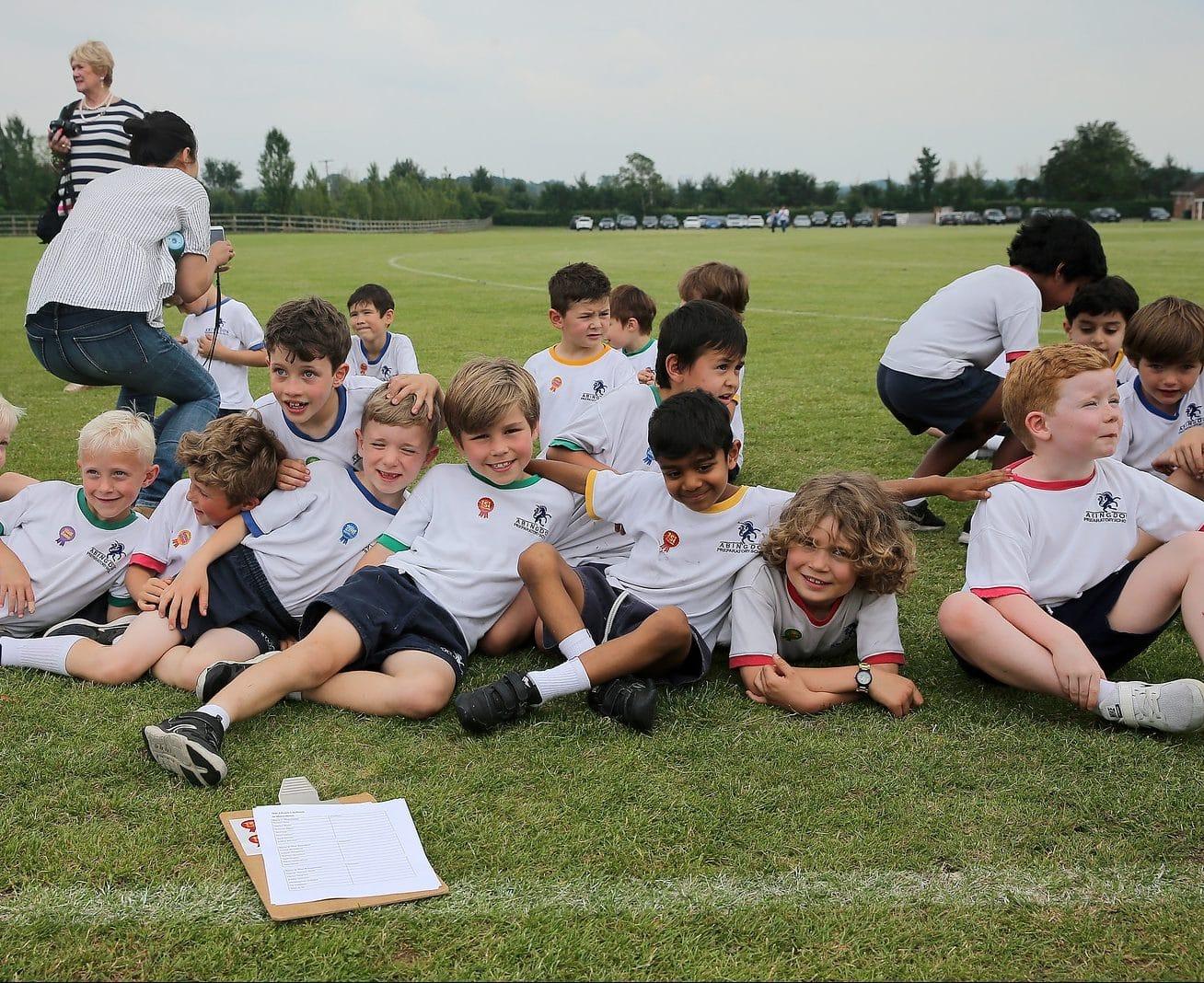 Abingdon Prep pupils sports day