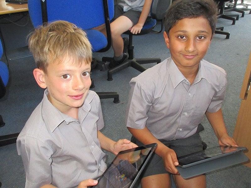 Abingdon Prep ICT lesson