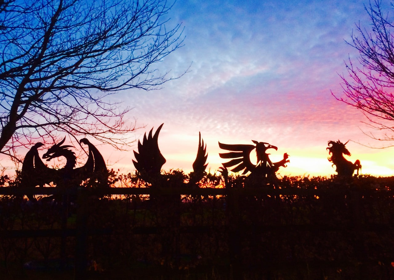 Abingdon Prep has four houses: Dragon, Griffin, Phoenix and Unicorn