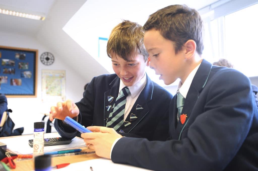 Abingdon Prep maths lesson