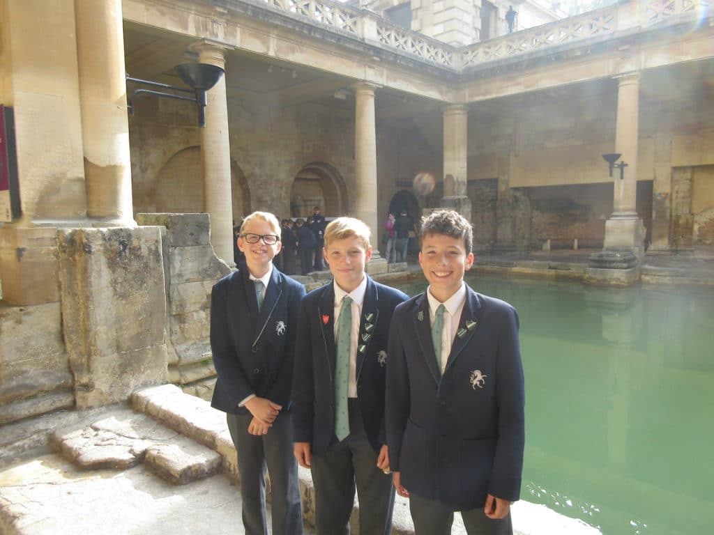 Abingdon Prep Latin trip