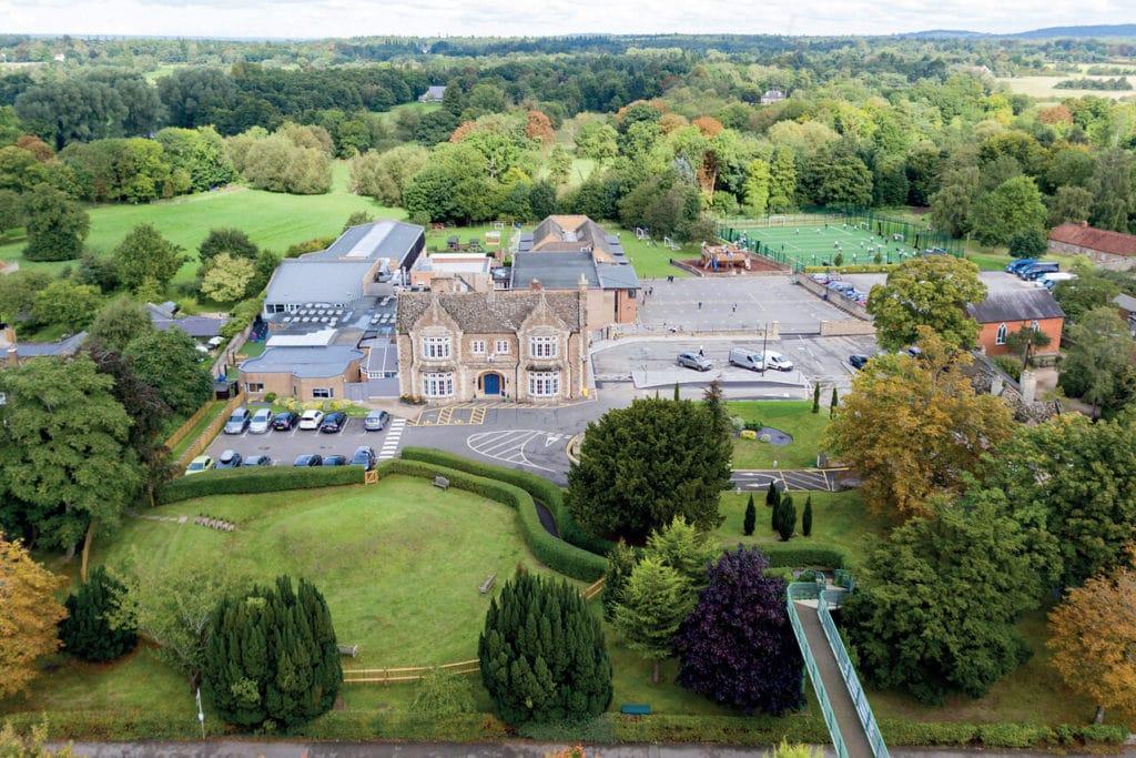 Abingdon Prep aerial photo