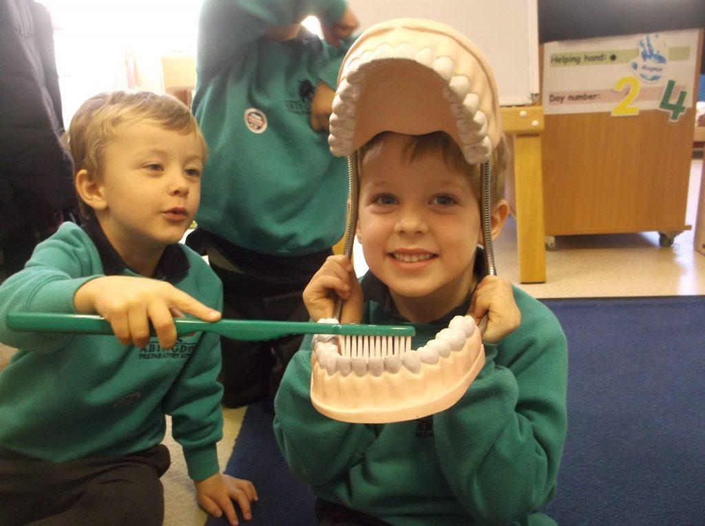 Abingdon Prep dentist visit