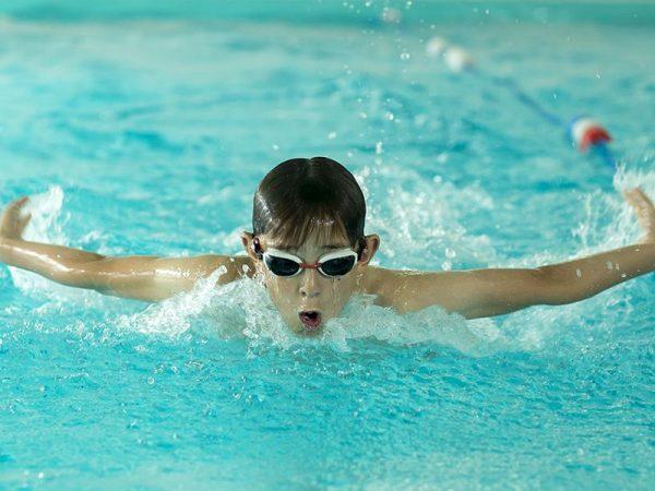 Abingdon Prep swimming lesson