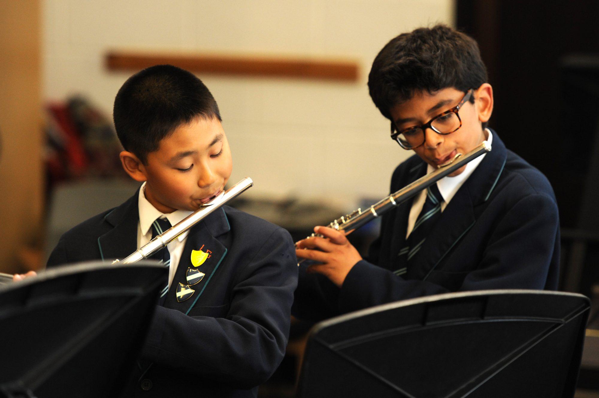 Abingdon Prep School music lesson