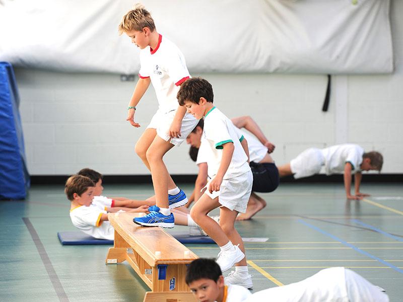 Abingdon Prep sports lesson