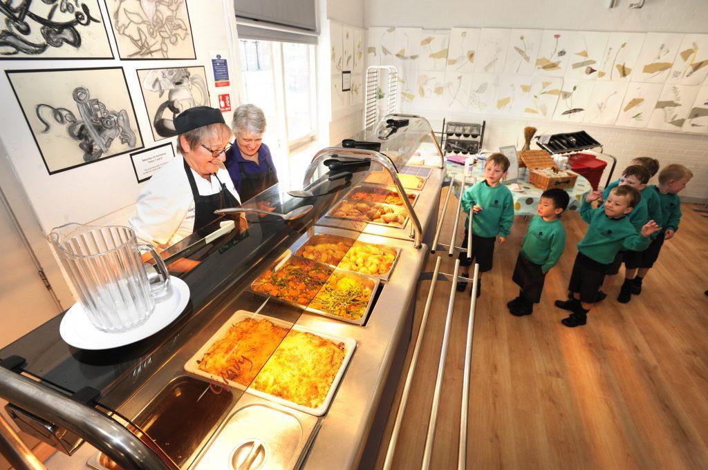 Abingdon Prep dining hall