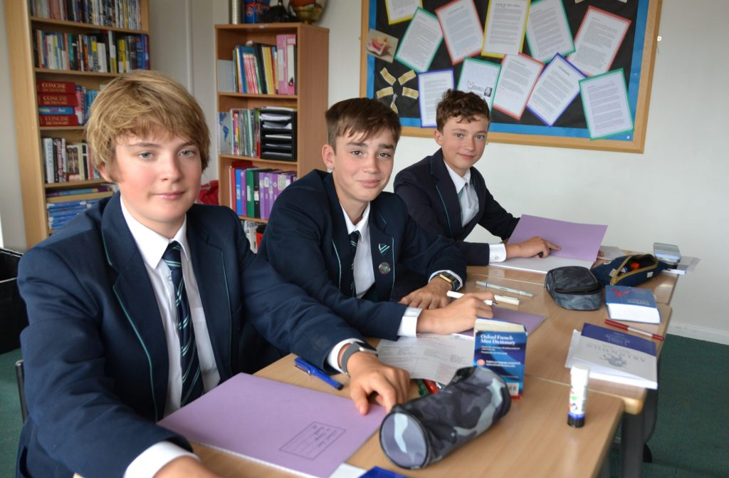 Abingdon Prep pupils in classroom