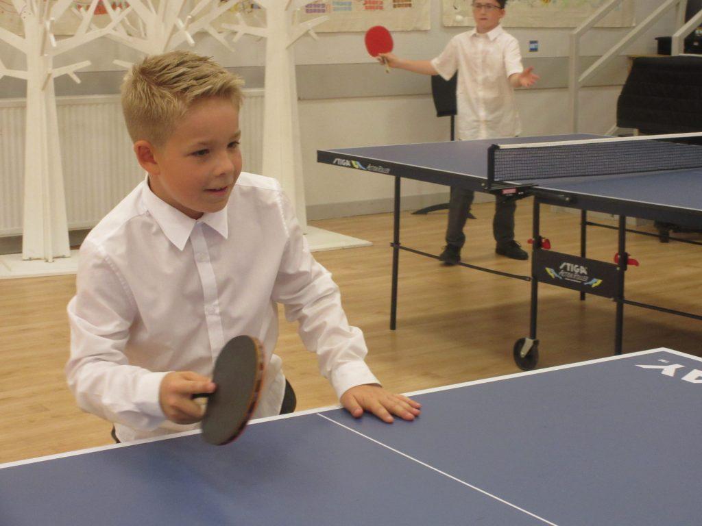 Abingdon Prep table tennis