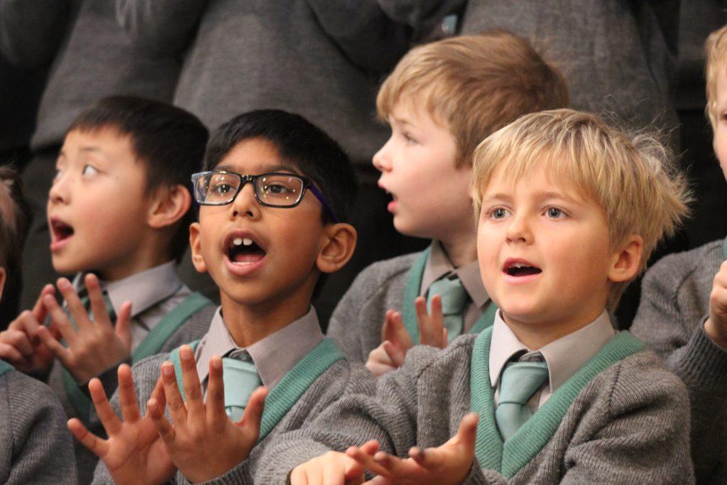 Abingdon Prep music lesson