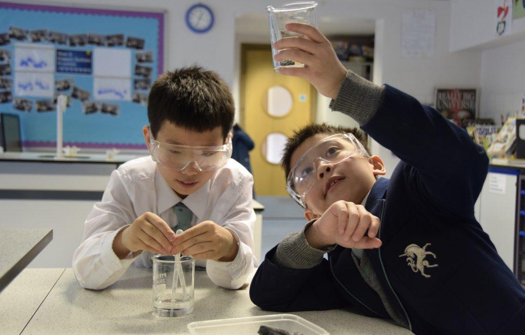 Abingdon Prep science lesson