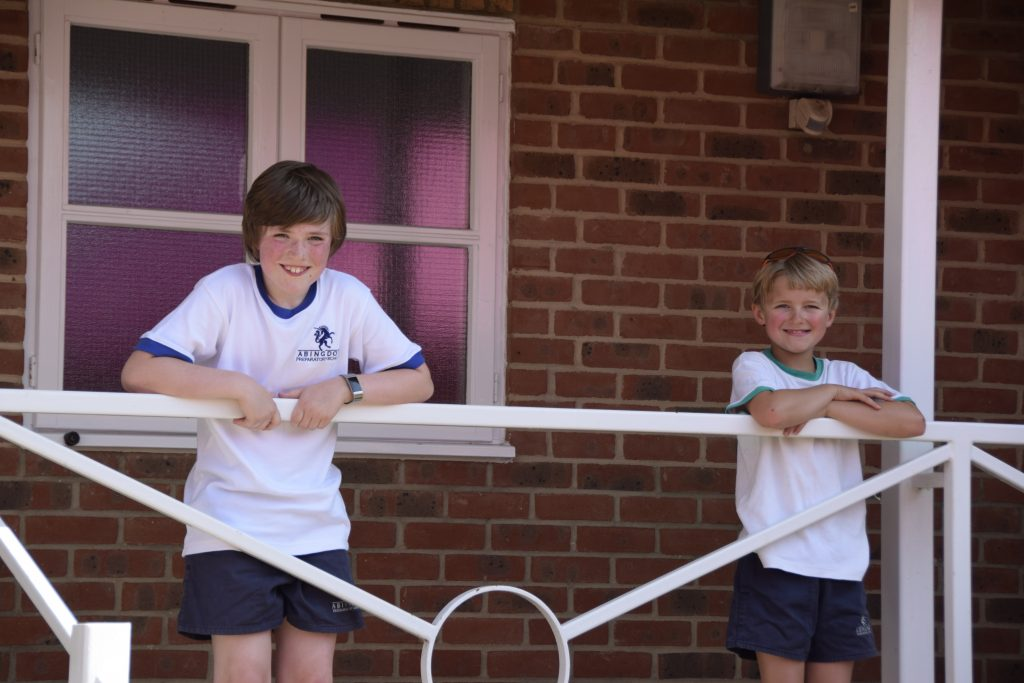 Abingdon Prep pupils outdoors
