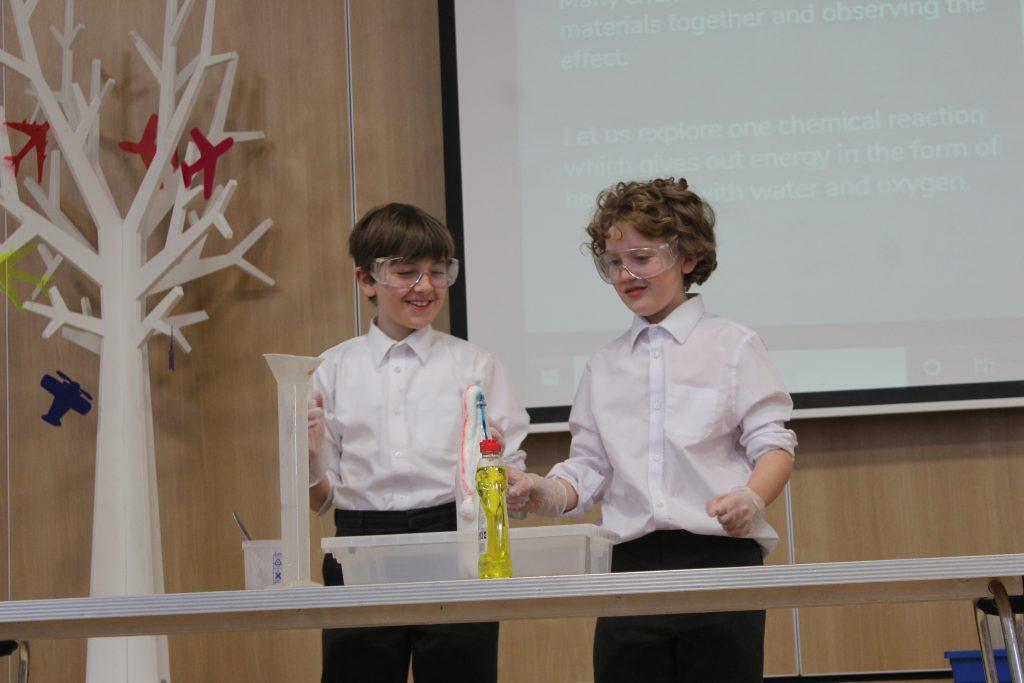 Abingdon Prep science activities