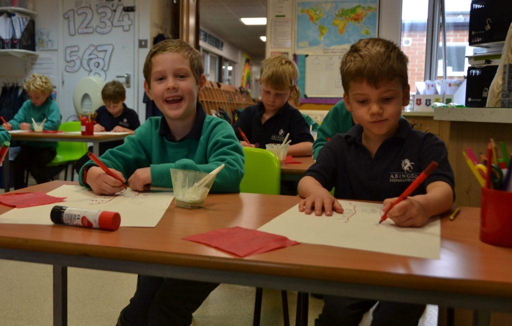 Abingdon Prep classroom