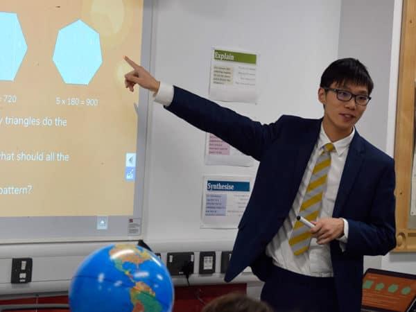 Abingdon School in Partnership lesson