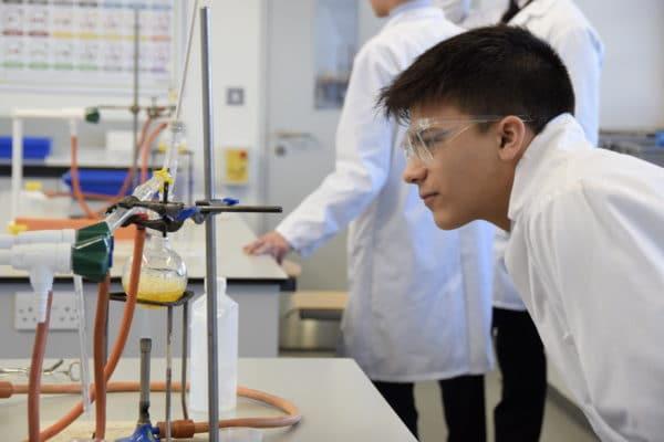 Abingdon School science lab