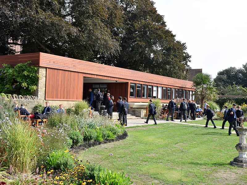 Abingdon School cafe