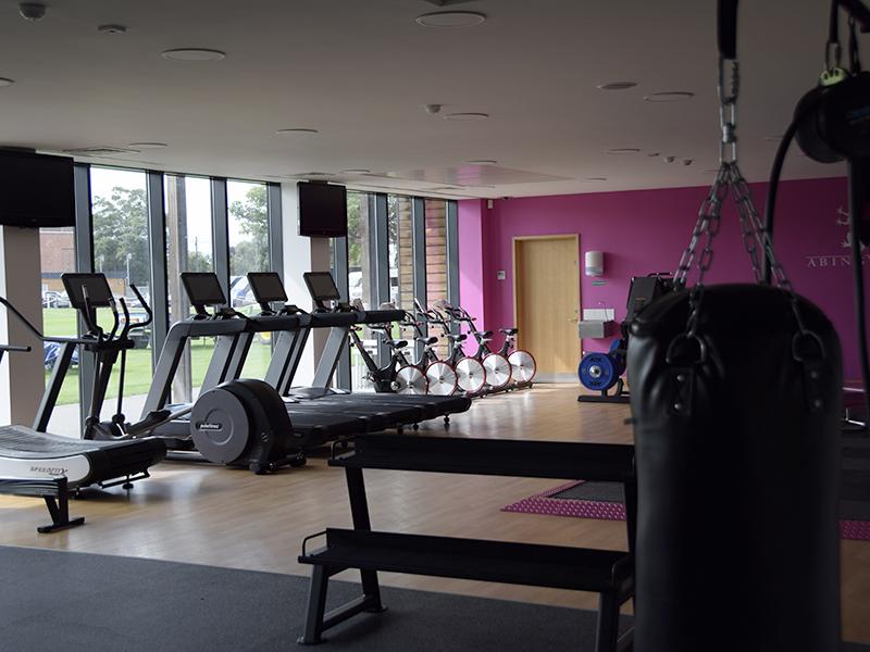 Abingdon School gym