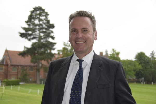 Ken Welby, OA 1984 and Chairman of the OA Club, Governor, Abingdon School