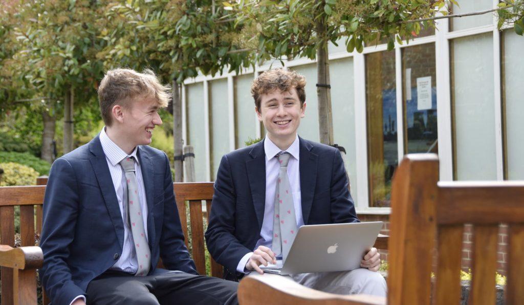 Abingdon School Sixth Form pupils