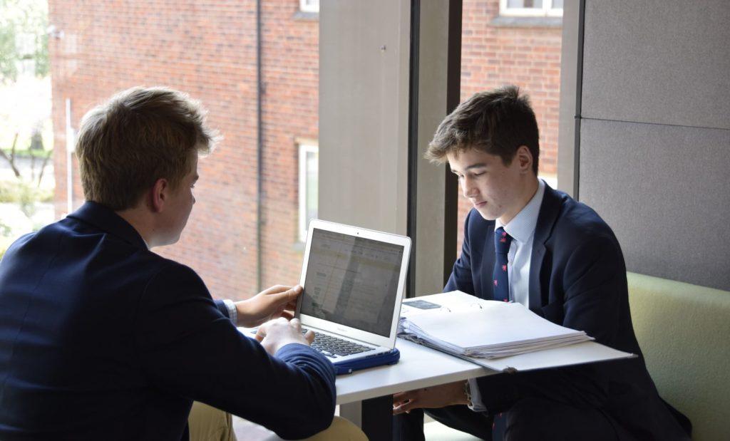 Abingdon School laptop
