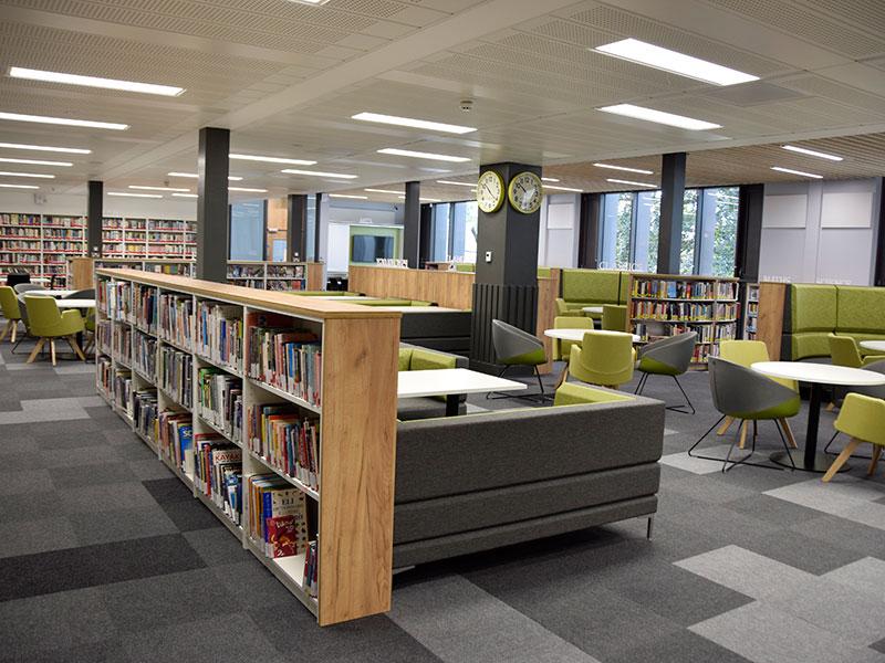 Abingdon School library