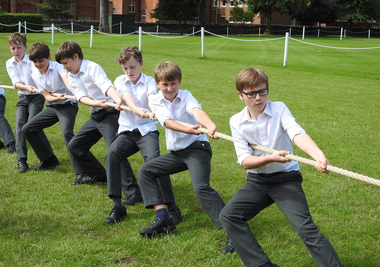 Abingdon School tug of war