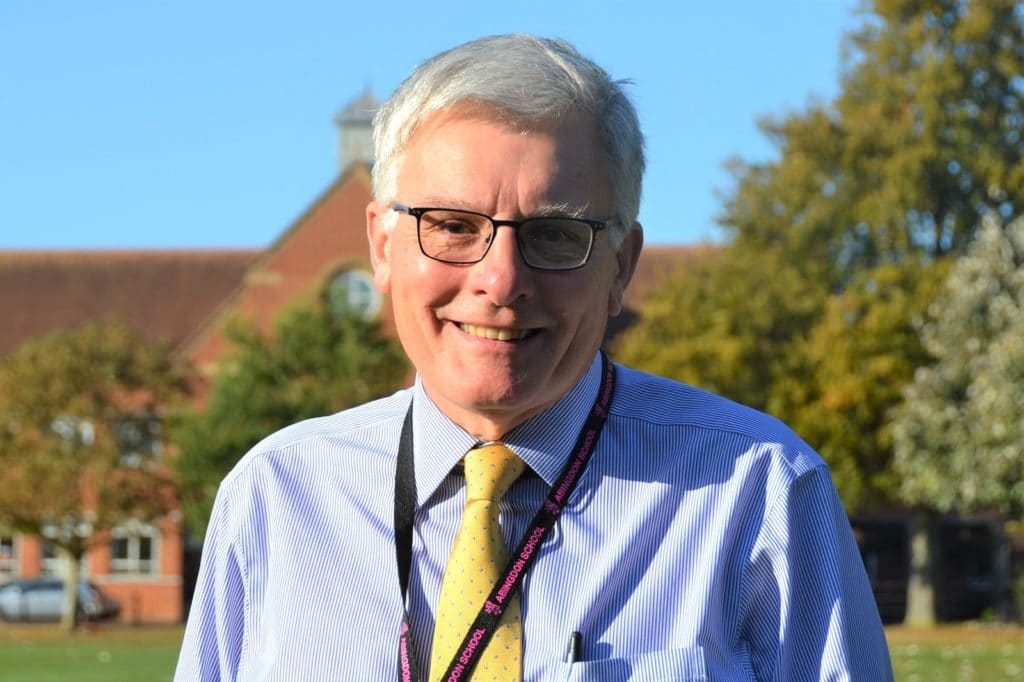 Professor Michael Stevens, Chair of Governors, Abingdon School