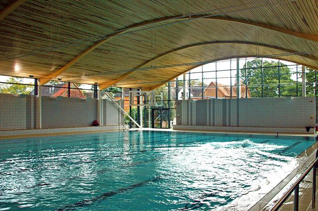 Abingdon School swimming pool