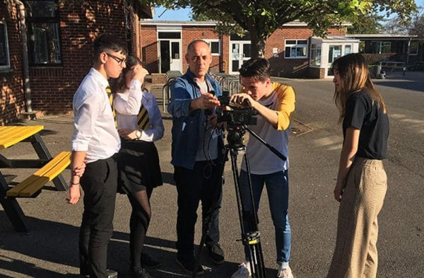 Abingdon School in Partnership performing arts