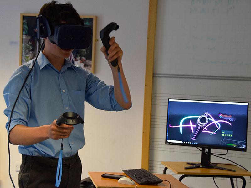 Abingdon School virtual reality club
