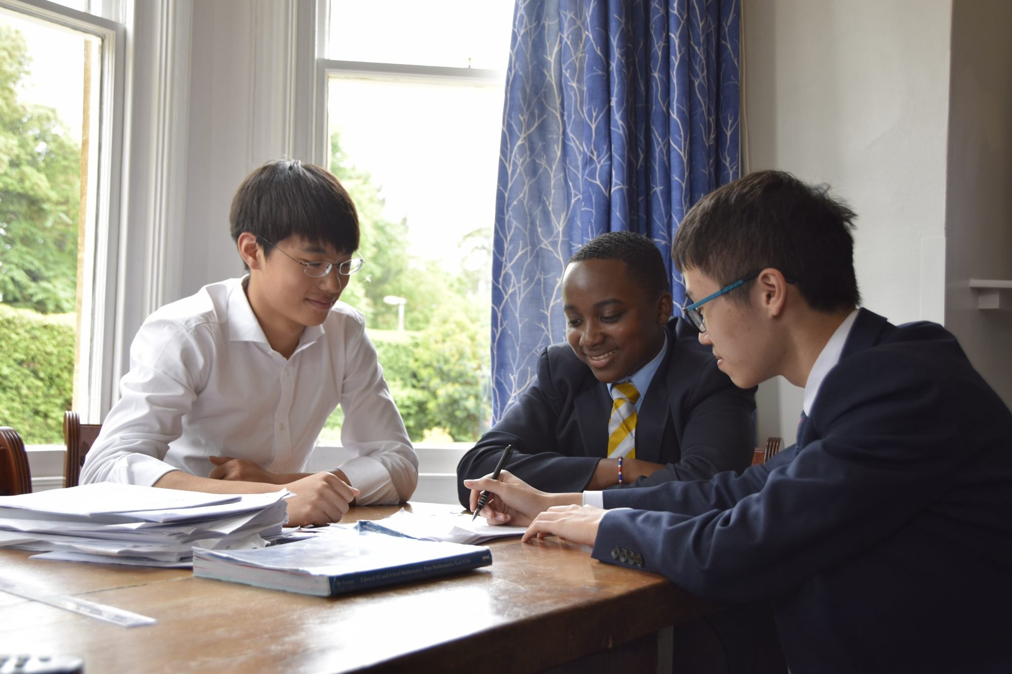 Abingdon School boarding pupils