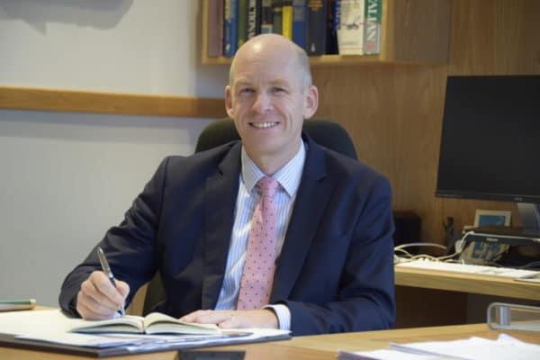 Abingdon School Headmaster, Michael Windsor