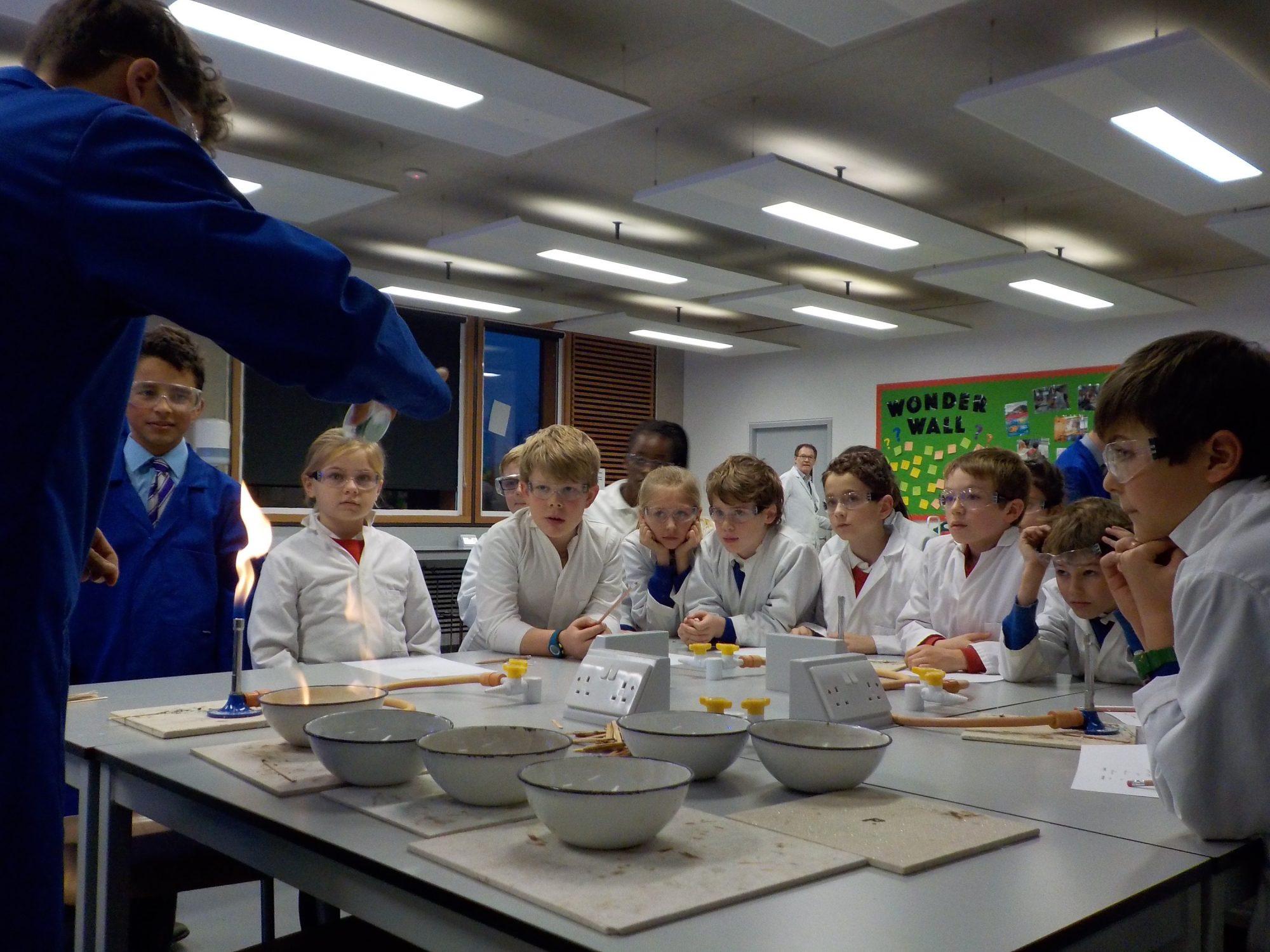 Abingdon Science Partnership lesson