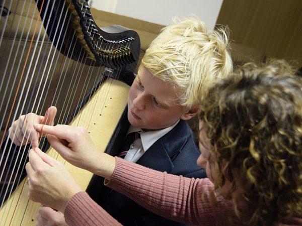 Abingdon School music lesson