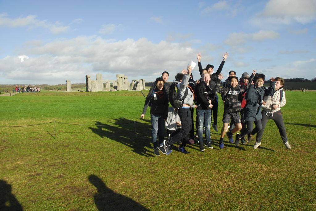 Abingdon School boarding trip