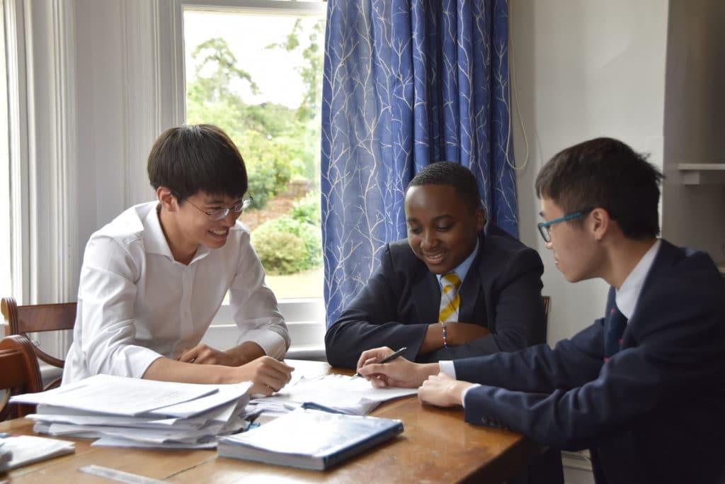 Abingdon School boarders