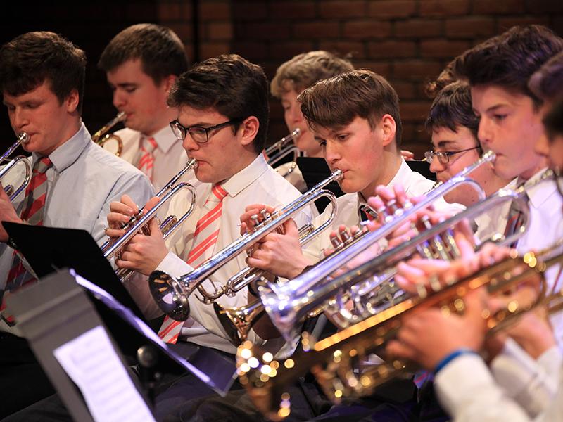 Abingdon School brass band