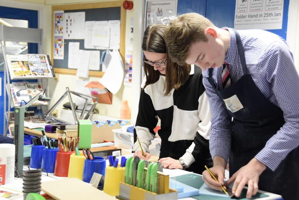 Abingdon School D&T lesson