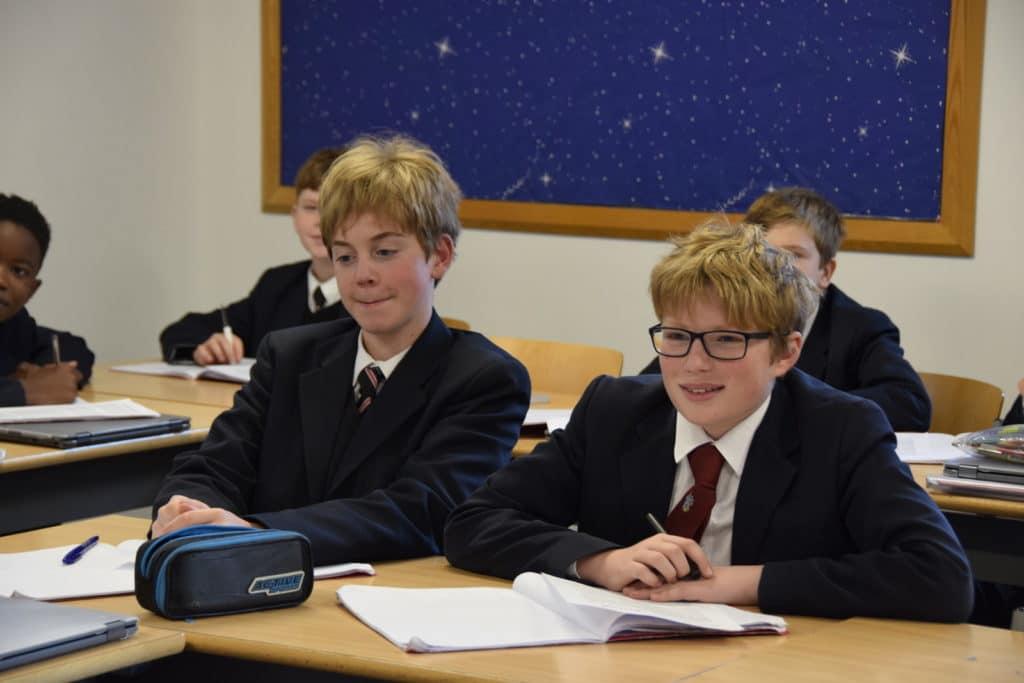 Abingdon School English lesson