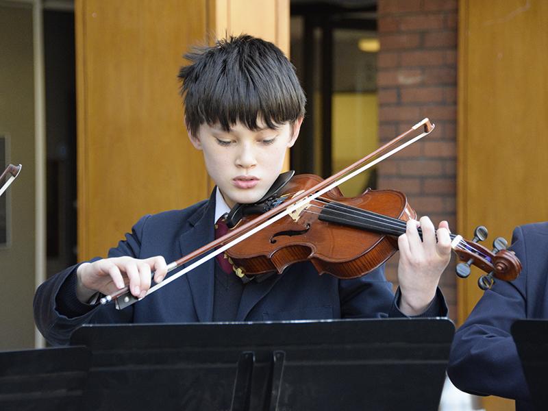 Abingdon School junior strings