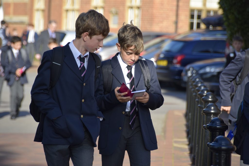 Abingdon School pupils
