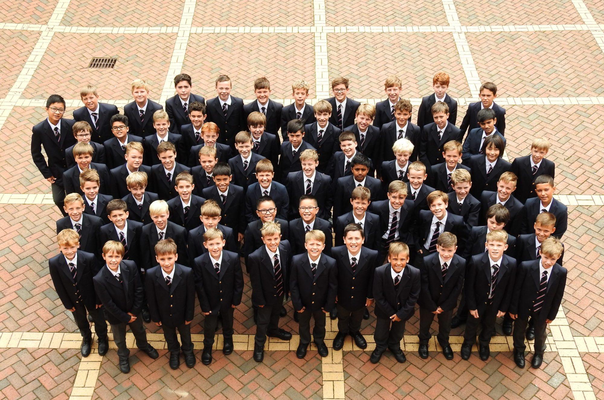 Abingdon School Lower School pupils