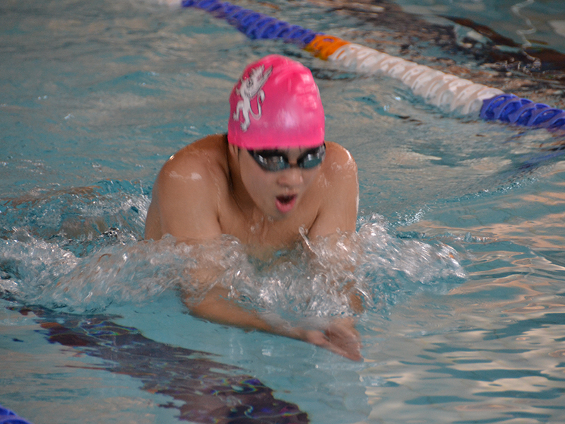 Abingdon School swimming