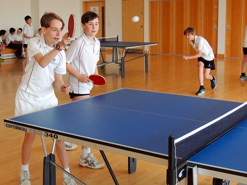 Abingdon School table tennis