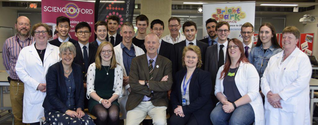 Abingdon Science Partnership team