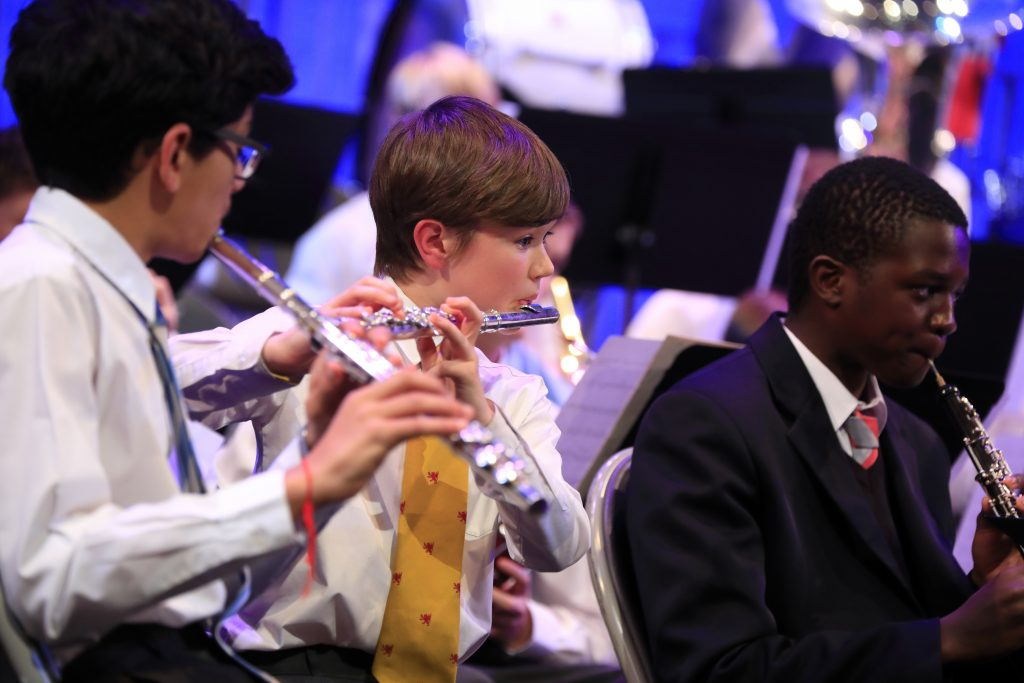 Abingdon School music concert